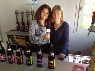 Carey Taylor & Cindy Durchon at the Brasserie des Cimes