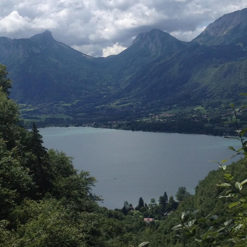 Lake Annecy France Haute Savoie Rhone Alps