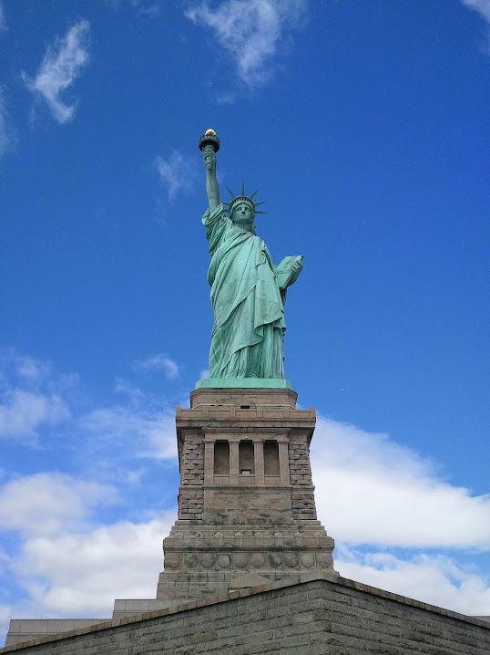 Lady Liberty in the NY / NJ Harbor