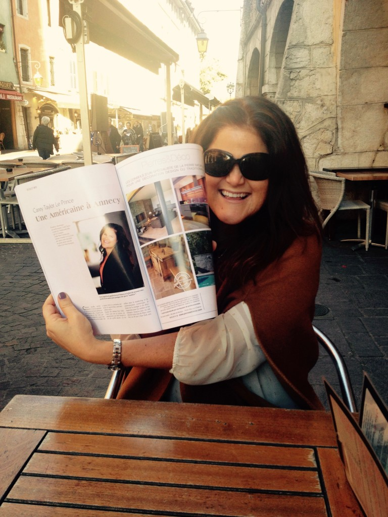 Vivre à Annecy Magazine featuring Carey Taylor - Le Prince