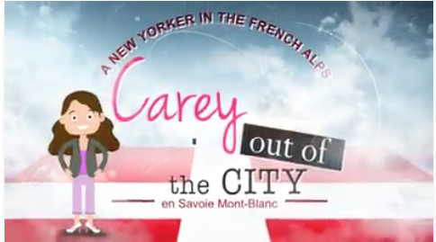 Carey out of the City Premier on 8 Mont+Blanc!