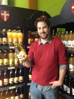 Marc Le Prince Thomas Marque Savoie Juice Organic Bio Auchan Carefour