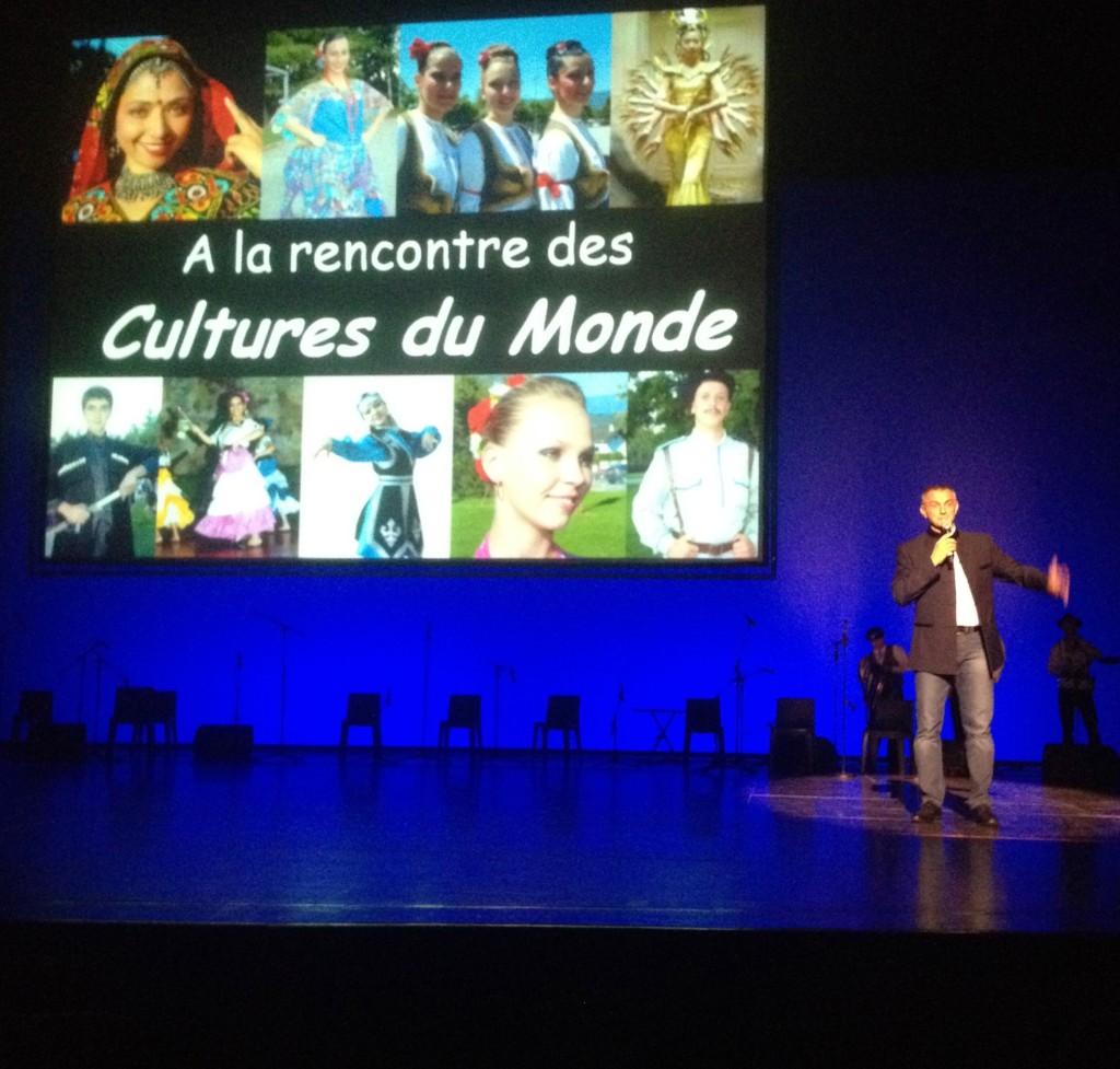 51ème Festival Mondial des Cultures du Monde de Chambéry Robert De Marchi Host and Artistic Director, Ballet de Savoie