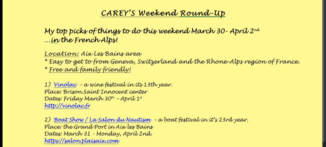 Weekend Round-Up / Easter 2018